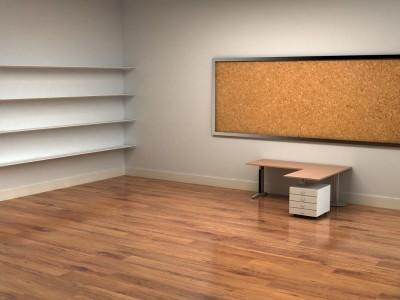 Jednoduchý nábytek do kanceláře